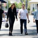 Gigi Hadid With Joe Jonas Out and About In La