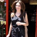 Emmy Rossum - Grabs Lunch At Judi's Deli In Los Angeles - May 25, 2010
