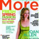 Joan Allen - More Magazine Cover [United States] (March 2005)