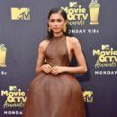 Zendaya At The 2018 MTV Movie & TV Awards