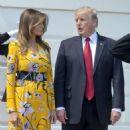 Melanie Trump – Meet Indian Prime Minister Narendra Modi in Washington - 454 x 568