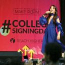 Camila Cabello – Michelle Obama Hosts the 5th National College Signing Day in Philadelphia