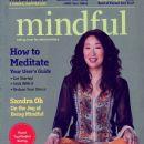 Sandra Oh - Mindful Magazine Cover [United States] (April 2014)