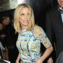 Sarah Harding: leaving the 'Ten - The Hits Tour' after party at Whisky Mist in London - 386 x 594
