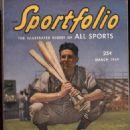 Walter Johnson - Sportfolio Magazine Cover [United States] (March 1949)