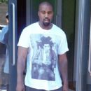 Kanye West is spotted out and about in New York City, New York on September 7, 2015
