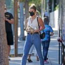 Hailey Bieber – Out and about in Beverly Hills