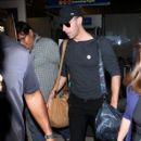 Chris Martin seen at LAX