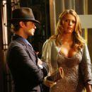 """Blake Lively on the set of """"Gossip Girl"""" in New York City - September 3, 2009"""