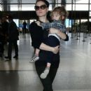 Anna Paquin Arriving At Lax Airport In La
