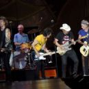 Brad Paisley joins The Rolling Stones during The Rolling Stones North American