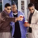 Mel Jackson (left), Dartanyan Edmonds (center) and Duane Martin (right) in Focus' Deliver Us From Eva - 2003 - 454 x 296