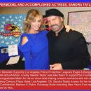 SUPERMODEL AND ACCOMPLISHED ACTRESS, SANDRA TAYLOR!  Metin Bereketli Supports Los Angeles Police Protective League's Eagle & Badge Gala with his art exhibition... - 454 x 373