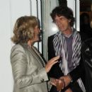 Mick Jagger and L'Wren Scott attend Finch's Quarterly Cannes Dinner 2010 at the Hotel du Cap as part of the 63rd Cannes Film Festival on May 17, 2010 in Antibes, France - 454 x 467