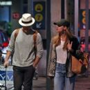 Melissa Benoist and Chris Wood Arrives in Vancouver