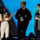 Lily Collins – hosts 'We Day' in Seattle - 454 x 302