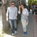 Hatice Sendil & Burak Sagyasar : out and about (June 12, 2016) - 454 x 462