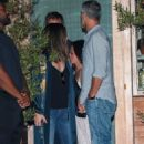 Sandra Bullock – Leaving Soho House with her boyfriend in LA