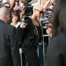 Amber Rose Arriving at the Jim Henson Studios to do a 'We Are The World' recording for the Haiti Earthquake Victims in Hollywood, California - February 1, 2010