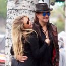 Nikki Lund and Richie Sambora check out their new flagship store 'Nikki Rich' opening in March 15 in Beverly Hill, CA on February 2, 2015 - 429 x 600