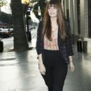 Mischa Barton - Meets Up With A Male Companion, Hollywood Boulevard, 2009-12-03
