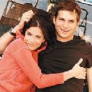 Ashton Kutcher and Amanda Peet