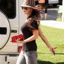 Megan Fox - Leaving Pradeep's Indian Restaurant In Santa Monica, 9. 7. 2009.