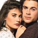 Demi Moore and Rob Lowe
