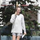 Cara Delevingne in Shorts – Out in Los Angeles
