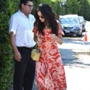 Shay Mitchell – Arriving to The in Style Gifting Suite in Brentwood - 454 x 665