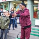 Samuel L. Jackson spotted on the set of