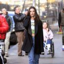 Emily Ratajkowski – Out for lunch in New York City