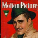 Errol Flynn - Motion Picture Magazine Cover [United States] (November 1938)