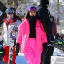 Kim Kardashian – Hitting the slopes in Aspen - 454 x 681