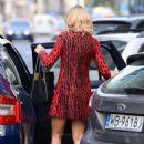 Joanna Krupa – In mini dress Out In Warsaw - 454 x 667