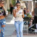 Kourtney Kardashian – Seen Out in Los Angeles - 454 x 597
