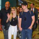 Carlson Young – Galeao International Airport in Rio de Janeiro, Brazil 8/30/2016