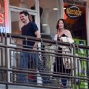 Robin Tunney – Leaving Sushi Park Restaurant in Los Angeles - 454 x 437