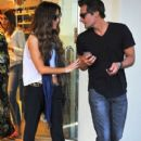 Kate Beckinsale stops by a nail salon for a mani/pedi in Santa Monica, California on January 31, 2015 - 405 x 600