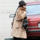Nicole Richie And Joel Madden Enjoyed A Late Lunch At Sushinozawa In Studio City, California On January 19 2010