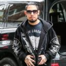 Dave Navarro is spotted out and about in New York City, New York on December 17, 2014 - 429 x 594