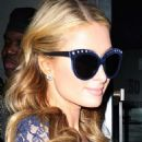 Paris Hilton Dvf Fashion Week In Nyc