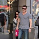 Megan Fox and boyfriend Brian Austin Green go shopping together on Saturday (September 5) in Toronto, Canada.