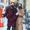 Katie Holmes – With her boyfriend out in Manhattan's Soho area