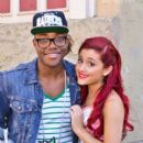 Ariana Grande and Leon Thomas III - 400 x 620