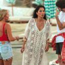 Nicole Scherzinger – On a photoshoot on the beach in Mykonos - 454 x 682