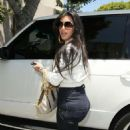 Kim Kardashian At LA Furniture Store