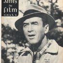 James Stewart - Amis Du Film Et De La Télévision Magazine Cover [France] (September 1962)