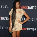 Solange Knowles - Gucci & RocNation Pre-GRAMMY Brunch in West Hollywood Feb 12, 2011