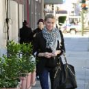 Amber Heard leaving the 'Cube Cafe' in Hollywood, 04.01.2011